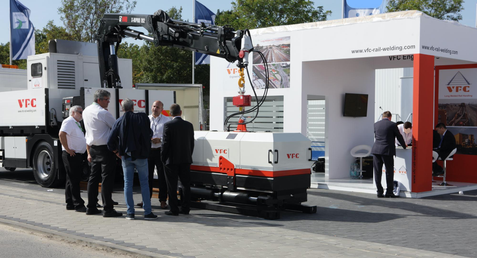 VFC stand at Innotrans 2018